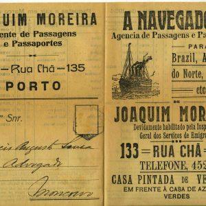 Paquetes a sair em Fevereiro e Março de 1934, para Horacio Augusto de Sousa, Moncorvo