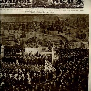 The Illustrated, London, Saturday, february 27 de 1943. ( danos de roedores sem prejudicar a leitura)