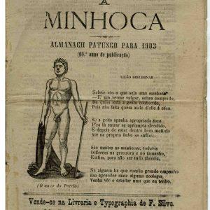 A Minhoca, Almanach Patusco para 1903, 10 ano de publicação, 16 pág