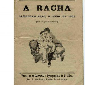 A Racha, Almanach para o ano de 1903, 6º ano de publicação,18 pág