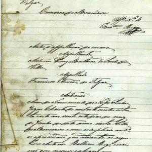 Auto de Apelação de Coima, António Juís Mathias, 1888, 19 folhas
