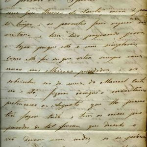 Carta 2 folhas Felgar 14-2-1866