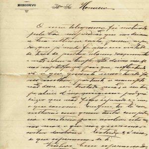 Carta de Flaviano Eduardo de Sousa, 1917