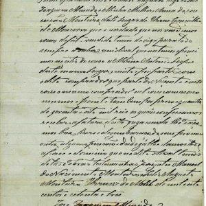 José Joaquim Almeida,  venda de 1873, 2 folhas , e duplicado