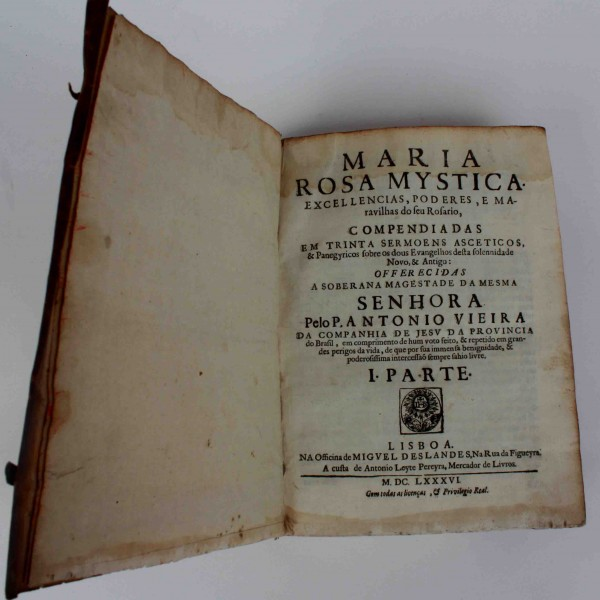 MARIA ROSA MYSTICA, MDCLXXXVI