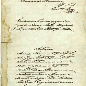 Processo contra Maria Bella Hespanhola, 1889, 21 folhas