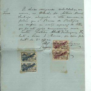 Substabelecimento ao Dr. António Manuel Santiago, 1906