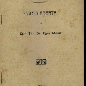 A Questão d´Ambaca, carta aberta ao dr. Egas Moniz, 1912