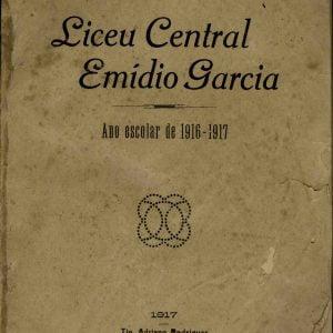 Anuáreio do Liceu Central Emídio Garcia, Ano Escolar 1916-1917