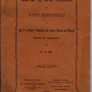 Autópsia às Notas Biográphicas do D. José alves de Mariz, 1909, 118 pág