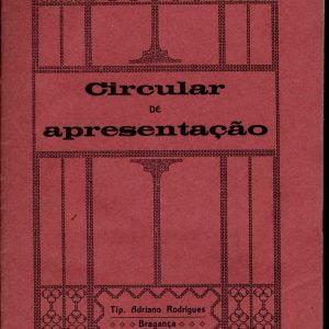 Circular de Apresentação, 1912, ( Morte D. José Alves de Mariz)