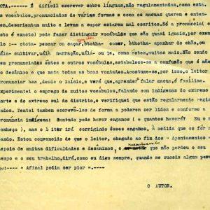 nota de autor- Vocabulário pág. 98 a 143- Dialeto imakua